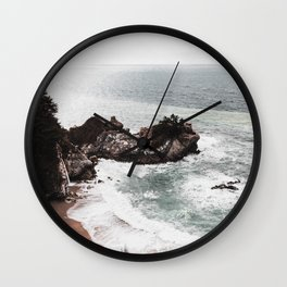 Wild Beach 2 Wall Clock