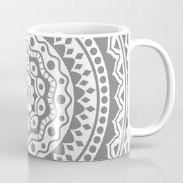 Mandala #3 (gray) Coffee Mug