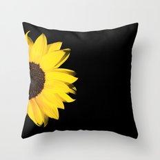 1/2 summer Throw Pillow