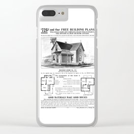 Sears Built Home 1908 Clear iPhone Case