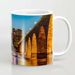 Stone Arch Bridge Illuminated Coffee Mug