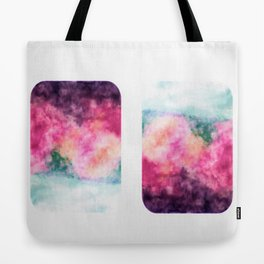 Watercolor square Tote Bag