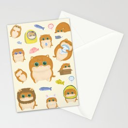 Hosico Cat - Yellow Stationery Cards