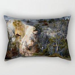 Mammoth Hot Springs-Yellowstone Rectangular Pillow