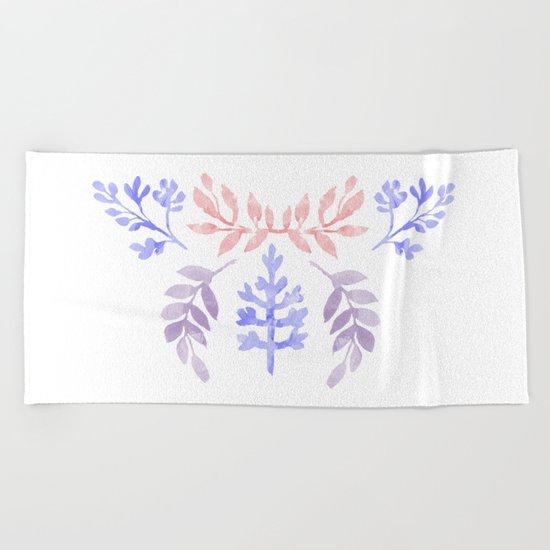 Lovely Pattern II Beach Towel