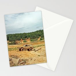 Off Roading Jeep Stationery Cards