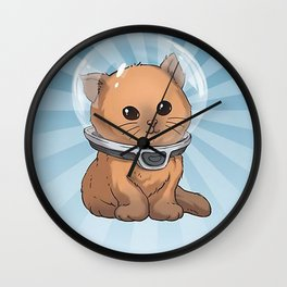 Keep Calm Kitty Wall Clock