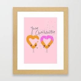 Churro Couple Framed Art Print