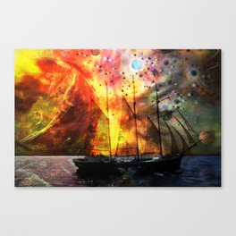 imaginary seascape Canvas Print