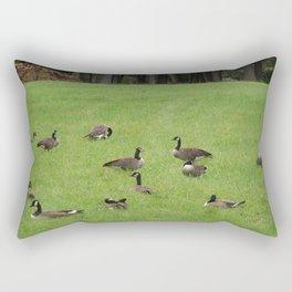 Canadian Geese #1 Rectangular Pillow