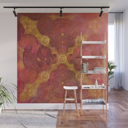 """""""Rose Gold Mandala Deluxe"""" Wall Mural"""