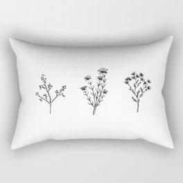 Wildflower Trio Rectangular Pillow
