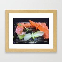 art food Framed Art Print
