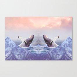 Mount Whales Canvas Print