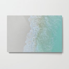 Seashore VII Metal Print