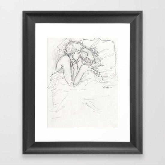 Dream a Little Dream Framed Art Print
