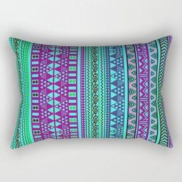 Inspired Aztec Pattern 4 Rectangular Pillow