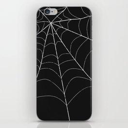 SPIDERWEB SPOOKNESS iPhone Skin