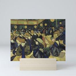 Vincent van Gogh - The Dance Hall in Arles (1888) Mini Art Print