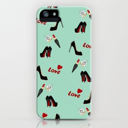 Shoes With Love iPhone Case