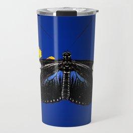 Wild Blue Travel Mug