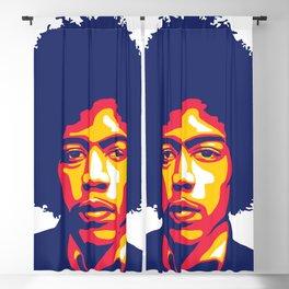 Jimi Hendrix Blackout Curtain
