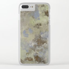 Troubled Sky Clear iPhone Case