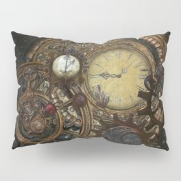 Steampunk Clocks Pillow Sham