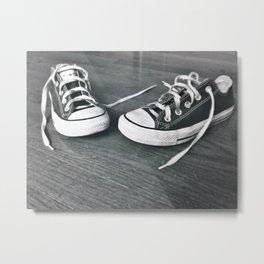 Two Shoes Metal Print