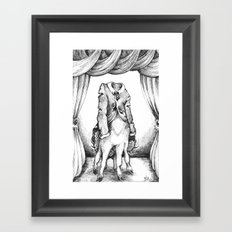 Haunted Clothing- The Coat of a Thousand Young Framed Art Print