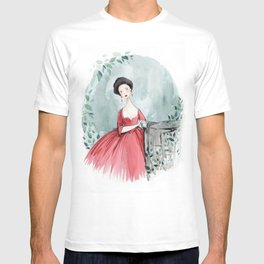 Claires Red Dress T-shirt
