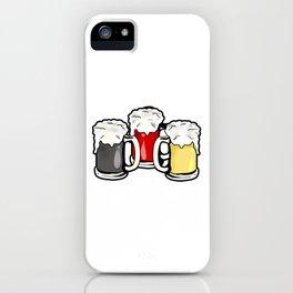 Beer German Flag Germany Present Gift iPhone Case