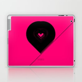 CRYPTIC HIPSTER HEART. Laptop & iPad Skin