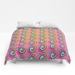 Candybuttons Pattern Comforters