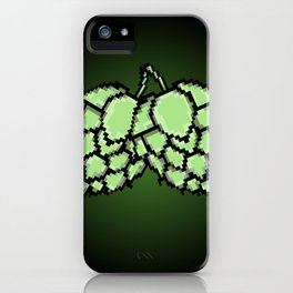Pixel Beer Hops iPhone Case