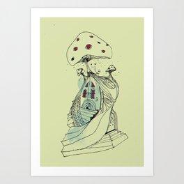 the shroooom Art Print