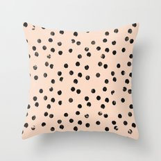 dots II Throw Pillow