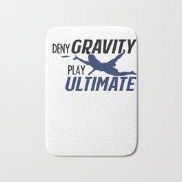 Ultimate Disc Gift Sport Jersey Player print Bath Mat