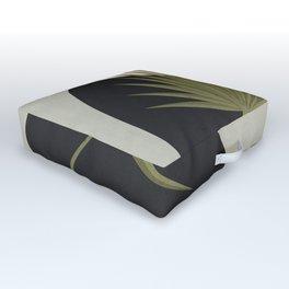 Tropical Leaf- Abstract Art 5 Outdoor Floor Cushion