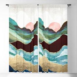 Velvet Mountains Blackout Curtain