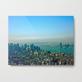 New York from the Empire State Building Metal Print