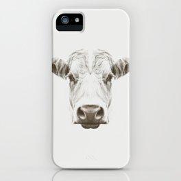 Cow Sym iPhone Case