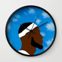 LeBron art Wall Clock
