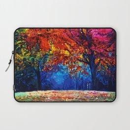 Tardis Tree Art Blossom Laptop Sleeve