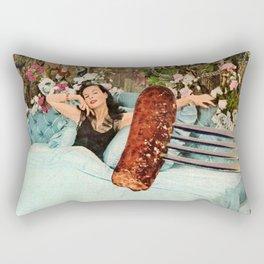 Breakfast in Bed Rectangular Pillow