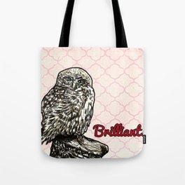 Brilliant Owl- Sassy Bird Tote Bag