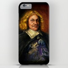 Portrait of a Sweet Dude Rockin a Sweeter than Hell Wolf Shirt  iPhone 6 Plus Slim Case