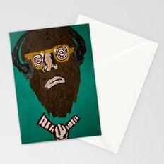 music brainwash  Stationery Cards