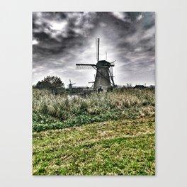 Kinderdijk Windmill - The Netherlands Canvas Print