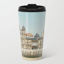 The City Hall and The Beach Travel Mug